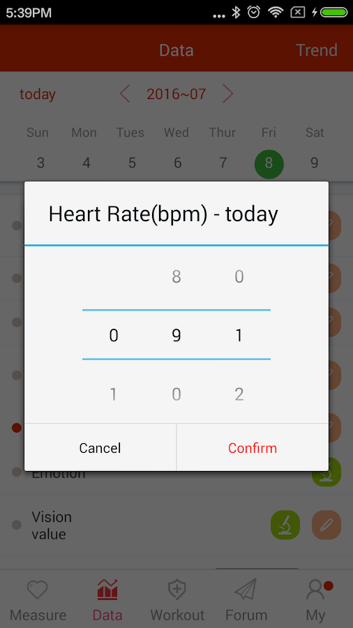 iCare Heart Rate Monitor Pro Screenshot 4
