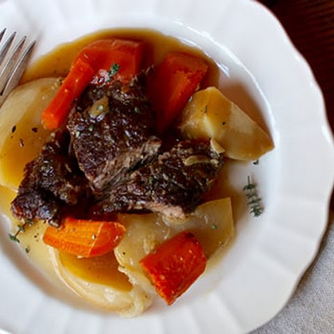 Beef Pot Roast with Root Vegetables