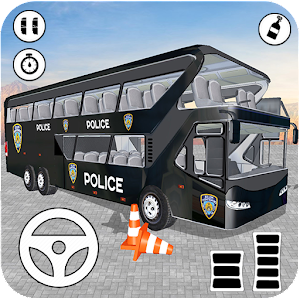 US Police Bus Parking Simulator For PC / Windows 7/8/10 / Mac – Free Download