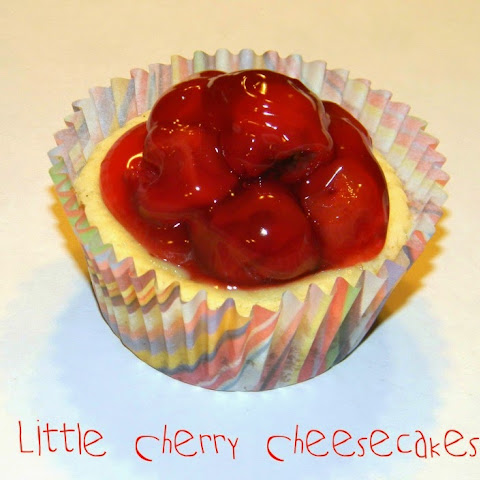 Little Cherry Cheesecakes