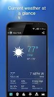 Screenshot of 1Weather:Widget Forecast Radar