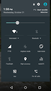 SIP Switch Widget - screenshot