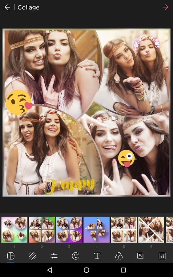 Pic Collage Maker Foto Editor kostenlos android apps download