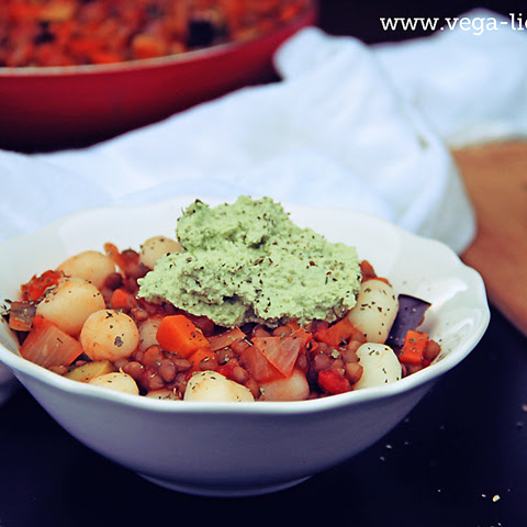 Kid and Allergy-Friendly Veggirama Gnocchi with Basil Pesto