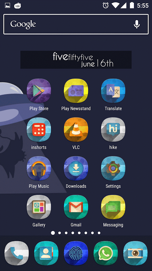Classic Material Icon Pack Screenshot 0