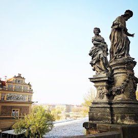 Prague you take my breath away...  by Anita Louise - Buildings & Architecture Statues & Monuments
