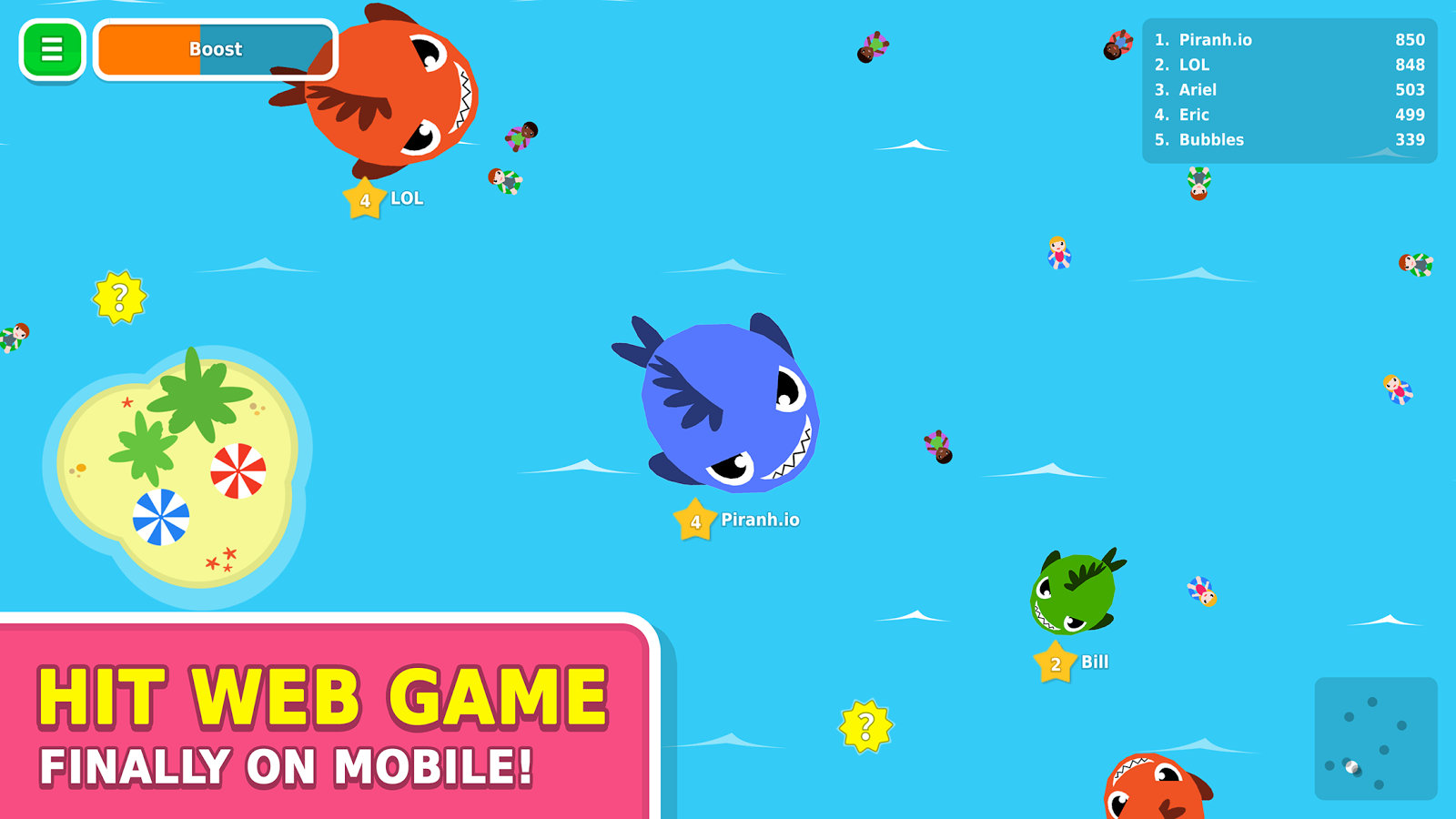 Piranh.io Screenshot 2
