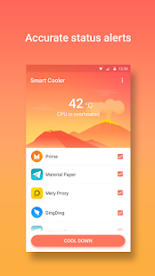 App Smart Cooler - Phone Cooler & CPU Temp Controller apk for kindle fire