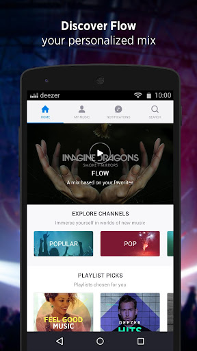 Deezer: Music&Song Streaming screenshot 2