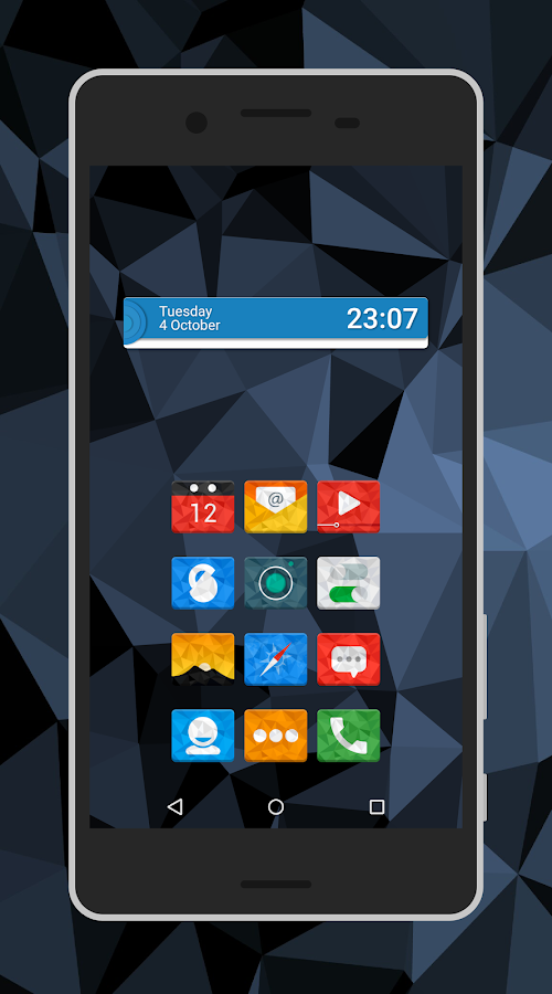 Rectron Icon Pack Theme Screenshot 0