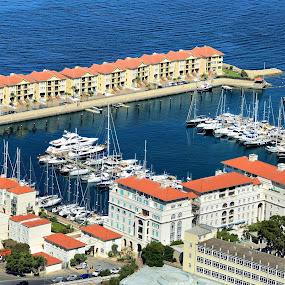 Gibraltar by Francis Xavier Camilleri - City,  Street & Park  Vistas
