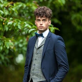 Matthew Formal Shoot by Mark McKeown - People Portraits of Men ( model, male, suit, matthew, northern ireland, wedding photographer northern ireland, photography )