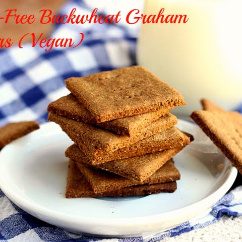 Buckwheat Graham Crackers (GF, Vegan)