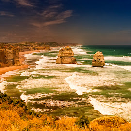 12 Apostles by Stanley P. - Landscapes Travel ( travel, waterscapes, landscapes )