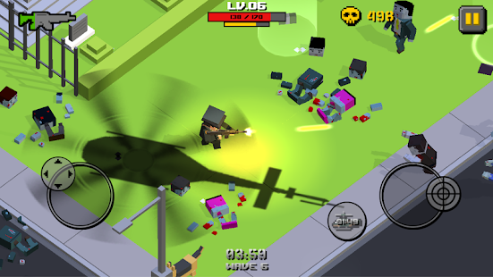 Cube Zombie War (Mod Money)