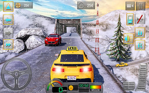 Taxi Driver 3D : Hill Station screenshot 8