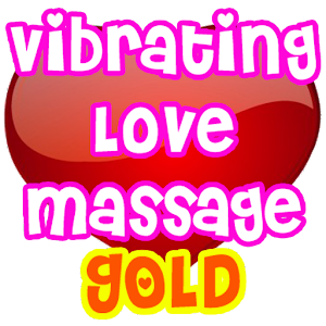 Vibrating Love Massage GOLD
