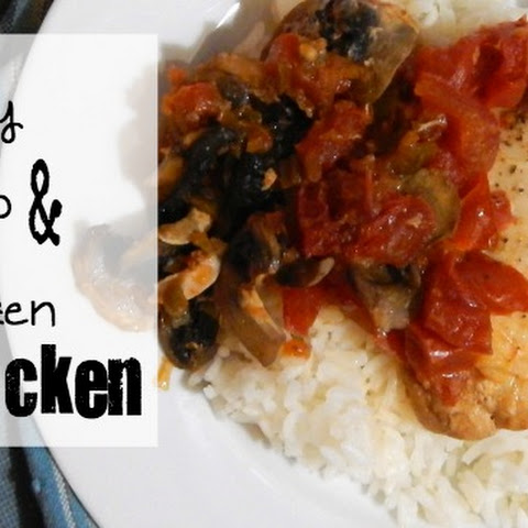 WTF Chicken {Whiskey, Tomato and Frozen Chicken}