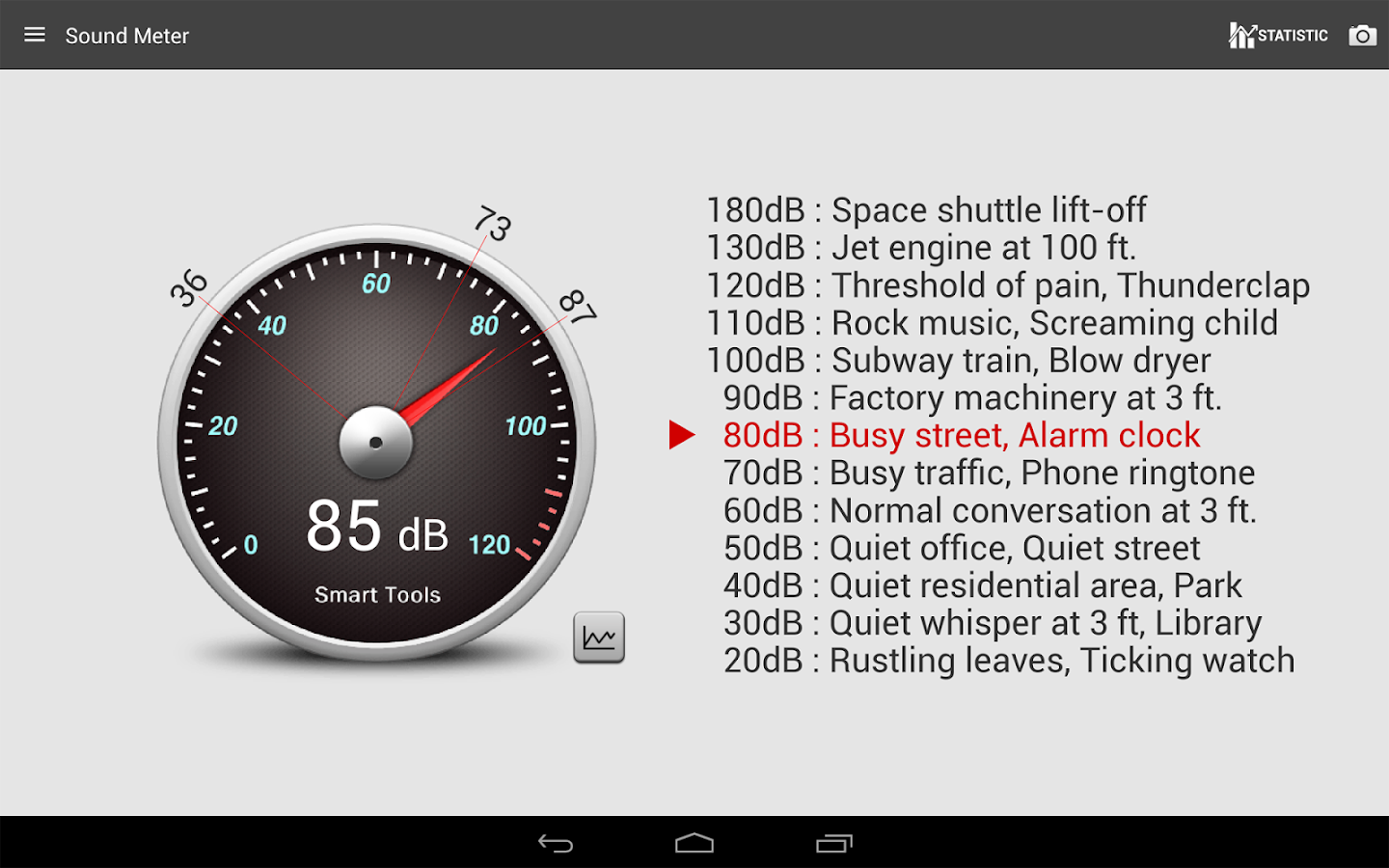 Sound Meter Pro Screenshot 8