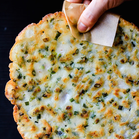 The Easiest Scallion Pancakes