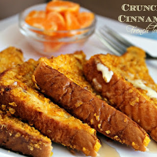 Crunchy Cinnamon French Toast