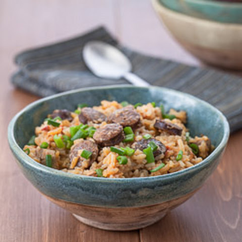 Slow-Cooker Chicken and Andouille Jambalaya