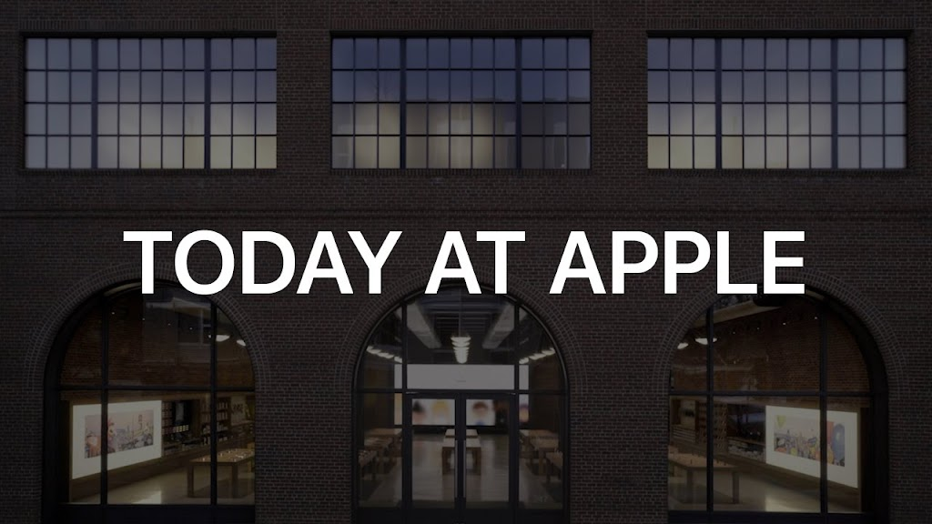 Today at Apple - title