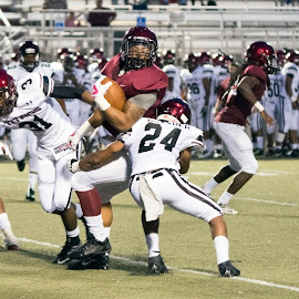 The Extra Effort by Jackie Nix - Sports & Fitness American and Canadian football ( prattville, athletics, football, friday night lights, gridiron, high school, sports, gadsden high school, lions, alabama, student athletes, prattville high school )