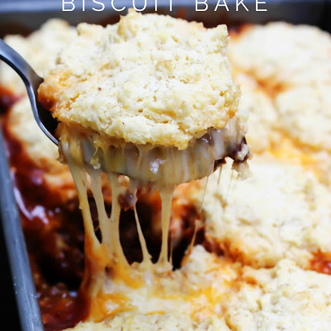 Chili Cheese Biscuit Bake
