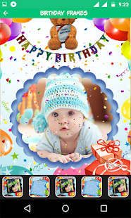 BirthDay Photo Frame - screenshot