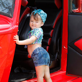 My Pin up Girl  by Pamela Wittern - Babies & Children Children Candids (  )