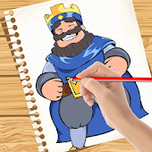 How to Draw: Clash Royale Icon