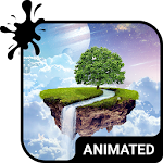 Paradise Animated Keyboard APK Image