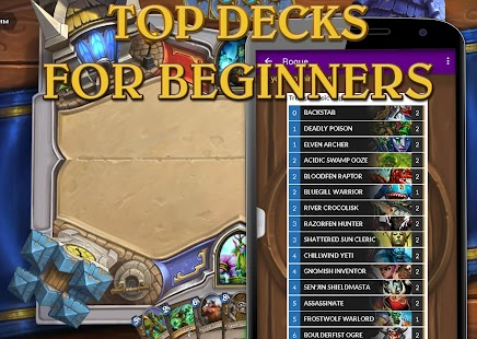 Top Decks for HearthStone - screenshot