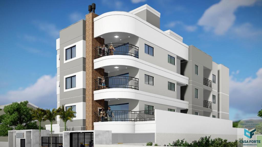 Exclentes apartamentos em construção em Tijucas