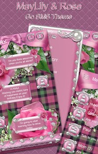 How to mod MayLily & Rose Go SMS Theme lastet apk for laptop