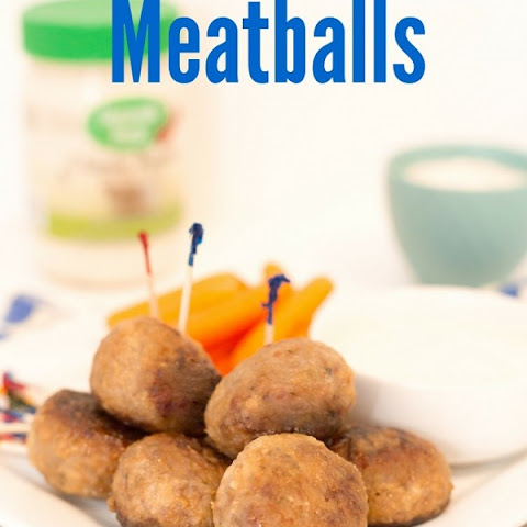 Spicy Ranch Meatballs