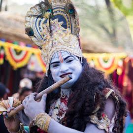 God with Music by Santosh Singh - People Body Art/Tattoos ( love god, god vs art, life of god, krishna, art for life )