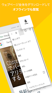 Google Chrome: 高速で安全 Screenshot