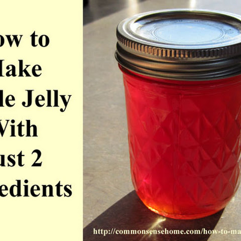 2 Ingredient Apple Jelly