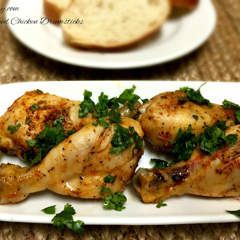 Spicy Baked Chicken Drumsticks