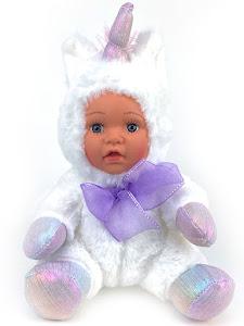 "Кукла серии ""Город Игр"" Единорог белый 20 см"