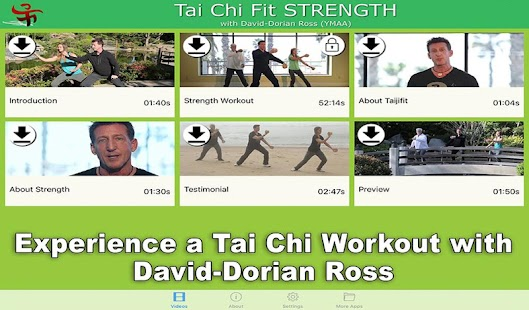 Tai Chi Fit STRENGTH Fitness app screenshot for Android
