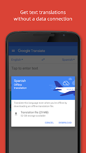 Google Translate- screenshot thumbnail