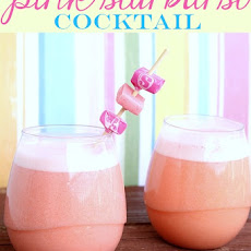 Pink Starburst Cocktail