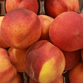 Juicy peaches by Maricor Bayotas-Brizzi - Food & Drink Fruits & Vegetables