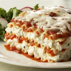 Ricotta Cheese Lasagna