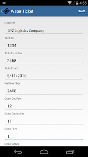 Field Ticket Pro - screenshot