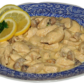 Uppercross Cottage Chicken Fricasee