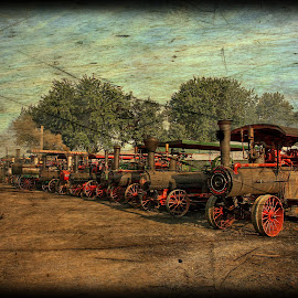 Steam Tractors by Will Zook - Digital Art Things